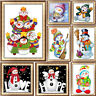 5D Full Diamond Snowman Embroidery Painting DIY Cross Stitch Craft Home Décor