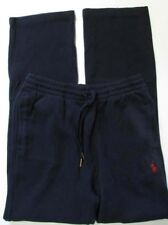 NWT Polo Ralph Lauren Athletic Sweat Track Pants Navy w/Red Pony Logo Sz S