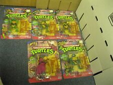 Teenage Mutant Ninja Turtles 1988 TMNT Playmates 4 Turtles and Splinter