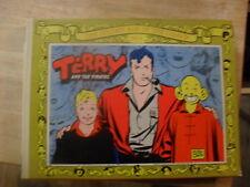 """""""Terry And The Pirates"""" Hc 3 Classic Strips Plus Portfolio. 1970 Milton Caniff"""