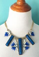 AMRITA SINGH blue/white necklace like new