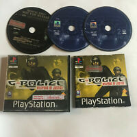 G Police 1 & 2 / Boxed & Disc Bundle / Playstation 1 PS1 PS2/PS3 PAL