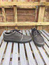 Mens VANS. slate Grey/black Suede. Size USA  9 Uk 8. Good Condition