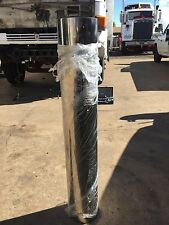 """Polished Stainless 6"""" Air Cleaner Pipe to suit Western Star, Mack, Kenworth Etc"""