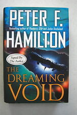 THE DREAMING VOID  by  PETER F HAMILTON (2008) 1st  SIGNED  HB
