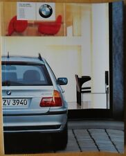 BMW 3 SERIES TOURING 2002 2003 UK Mkt Prestige Sales Brochure Prospekt - E46