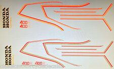 HONDA CB400N SUPERDREAM RESTORATION DECAL SET