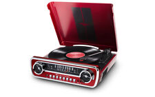 Classic Mustang Car Styled Music Center IT69 ION Mustang LP in Red
