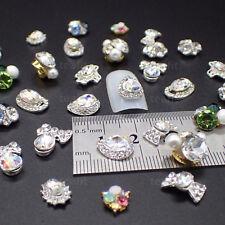 3D Glass Oval Rhinestone Centrepiece Crystal Gem Decoration Craft Rhinestones