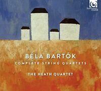 Heath Quartet - THE HEATH QUARTET - BARTÓK: COMPLETE STRING QUARTETS (1 CD)