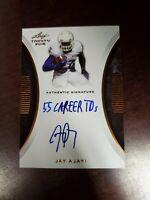 2015 Leaf Trinity Signatures Jay Ajayi #TS-JA2 Rookie Auto