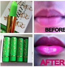 GENUINE Hare Magic Moroccan Lipstick - Changes GREEN to PINK. - SLIGHT FAULT
