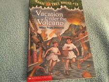 MAGIC TREE HOUSE #13 VACATION UNDER THE VOLCANO paperback