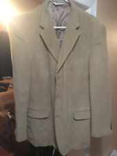 Linea Uomo Light Brown Corduroy Blazer 48 Long