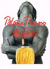 PUBLICITE ADVERTISING 074  1994  PALOMA PICASSO  parfum homme MINOTAURE