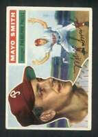 1956 Topps #60 Mayo Smith EX/EX+ Phillies DP MG 83467