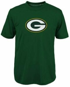 Green Bay Packers Youth Boys Primary Logo DRI-TEK T-Shirt - Green