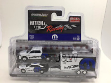 Greenlight Dodge Ram 1500 & Dodge Charger HELLCAT 2016 W Enclosed CAMION 1/64