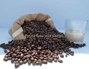 Irish Cream Flavour Decaffeinated Coffee Beans 100% Arabica Bean/Ground Coffee