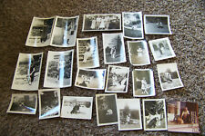 Lot of Vintage Photographs Mostly Circa 1940s-60s Dogs Women Pets Various 8