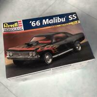 Revell Monogram General Motors Company  '66 Malibu SS 1/24 Model Kit #15370