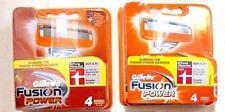 Rasierklingen Gillette   FUSION   Power      8   Stück   OVP  NEU