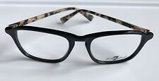 7 For All Mankind Women's 733 Eyeglass Frames Black Tortoise 51-18-138 - New
