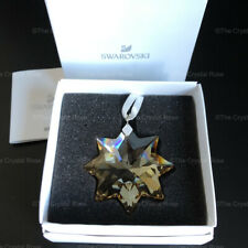 RARE Swarovski Crystal GWP Star Christmas Ornament Gold 5268523 Mint Boxed