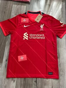 LIVERPOOL FC HOME SHIRT 21/22 NEW SMALL.