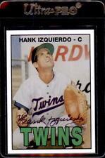 Hank Izquierdo Minnesota Twins Fritsch OYW ? Autographed Baseball Card DECEASED