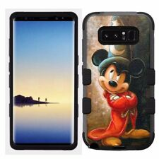 for Samsung Galaxy Note 8 Rugged Hard+Rubber Hybrid Case Mickey Mouse