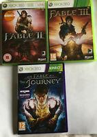 Fable 2, 3 & Journey / Boxed Bundle / Xbox 360 / / II III / #31