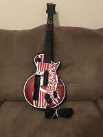 RARE Guitar Hero Nintendo Wii Aerosmith Red Octane Les Paul Wireless Controller