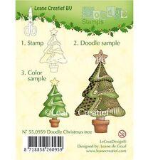 Stempel - Clearstamp - Weihnachtsbaum (Doodle)  - von Leane Creative