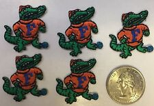 florida gator patch embroidered badge Univ of Fla Albert patch 6 pc. lot