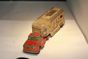 #K-18A Dodge Horse Trailer Truck Lesney Matchbox Made in England Free Shipping