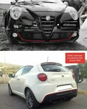 Kit Profilo Rosso Anteriore E Posteriore Alfa Romeo Mito Front And Back Dam