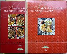 I sapori della Cucina Regionale Italiana: i SecondPiatti, Ed. Mondadori, 6 voll.