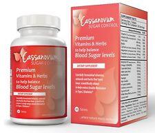 Cassanovum Sugar Control & PCOS - Premium Vitamins & Herbs