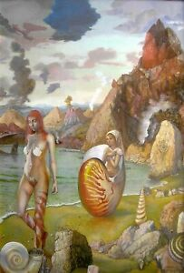 """Molluscan Bay"" giclee print 24x16.5"