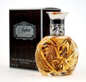 Ralph Lauren Safari For Women Eau De Parfum Spray 75Ml **Brand New