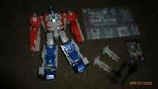 Transformers Generations Titans Return Optimus Prime Leader Figure Complete