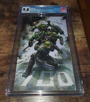 Teenage Mutant Ninja Turtles #100 CGC 9.8 Graded Clayton Crain Virgin Variant