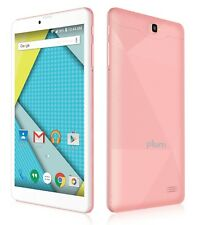 "Plum Optimax 4G Unlocked GSM Tablet Phablet 8"" Android ATT Tmobile Z811ROSE"