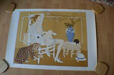 "Phillipe Noyer "" Daphna "" 1981 Original Color Lithograph Hand Signed ~ #193/225"