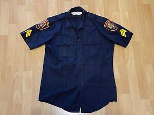 ORIGINAL USA Polizei Hemd Three Rivers California Police Shirt