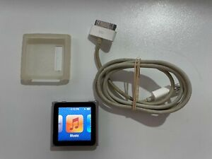 iPod Nano (6th Generation) | Silver | 8GB | Accesories | Excellent Cond.