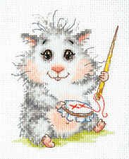 Cross Stitch Kit Wonderful Needle (hamster) art. 19-19