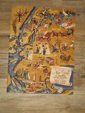 VINTAGE MENU HOTEL ASTOR TIMES SQUARE 1947 COLUMBIA ROOM