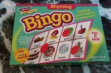 Trend Enterprises Rhyming Bingo Game - Family Game Night - Educational